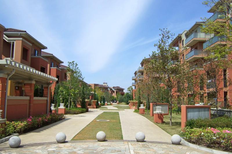 印西市の住宅地