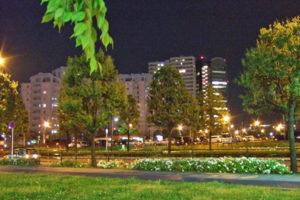 千葉ニュータウン中央の夜景