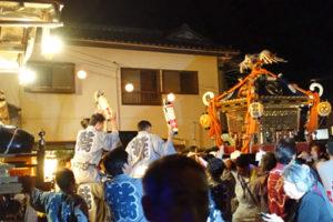 木下の祭り