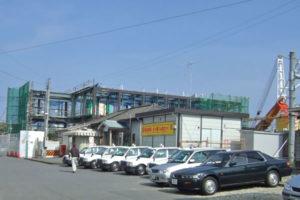 JR木下駅建て替え工事