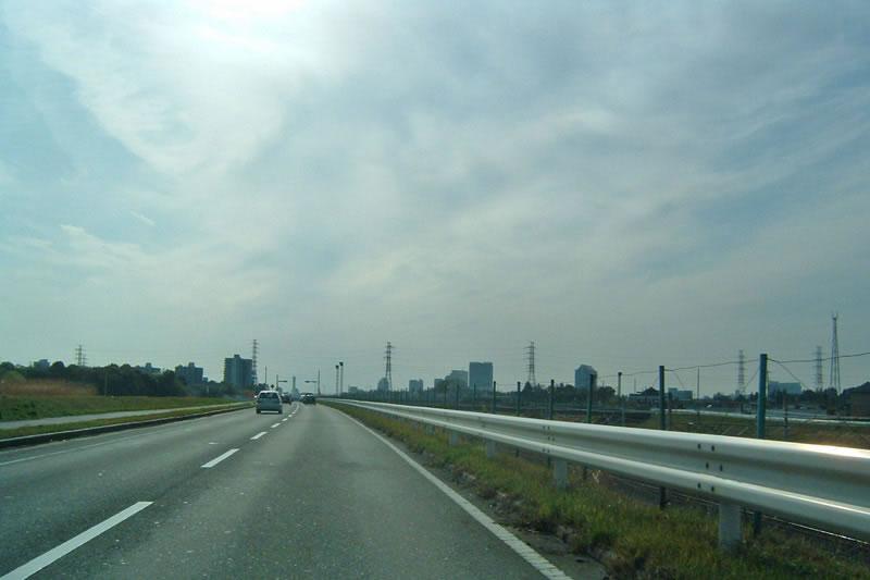 印西市の国道464号線高花草深エリア