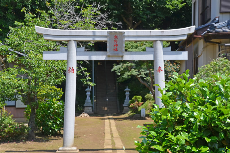 印西市の熊野神社