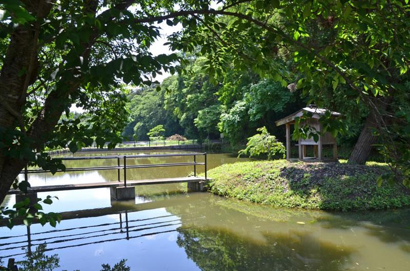 結縁寺の周辺のため池