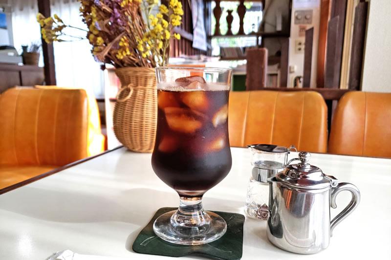 喫茶店カペーのコーヒー