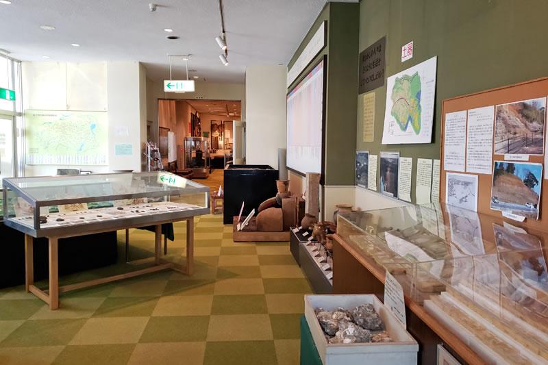 印旛歴史民俗資料館のホール