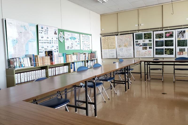 印旛歴史民俗資料館の学習室