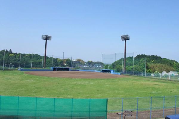 本埜スポーツプラザの野球場