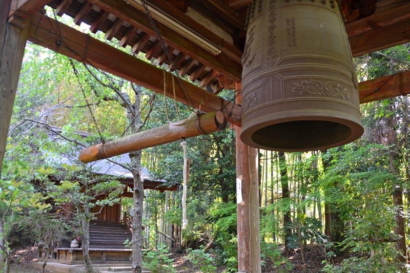 松虫寺の鐘