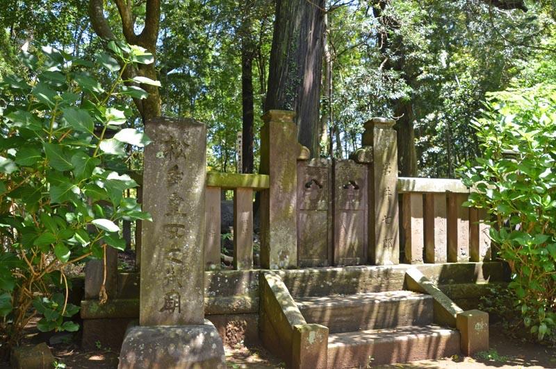 松虫姫のお墓