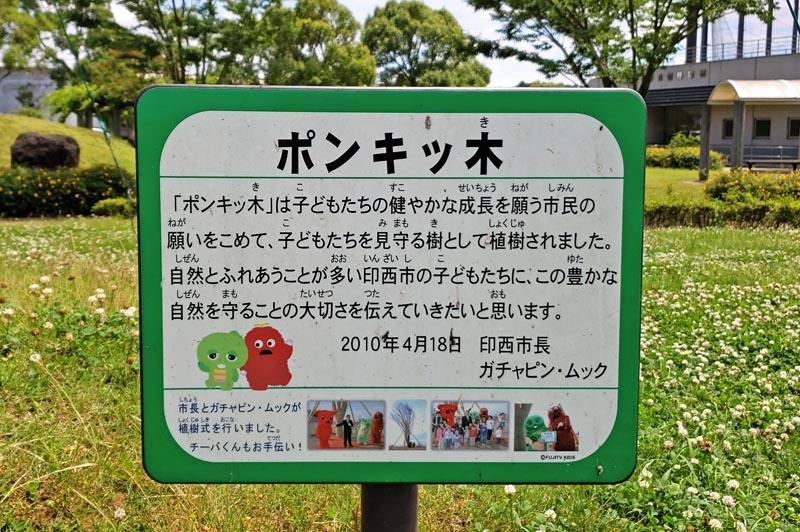 松山下公園のポンキッ木