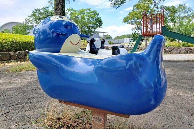 印西松山下公園のラッコの遊具