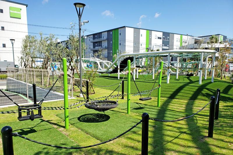 the greenの遊具施設