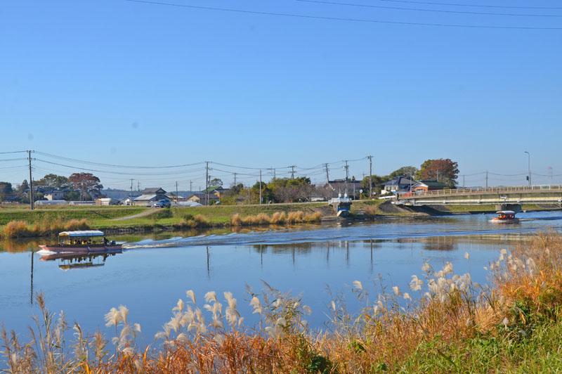 手賀川といんざい川めぐりの船