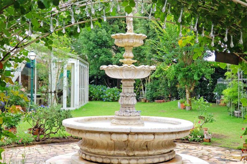 千葉県印西市のアンソレイエの庭園
